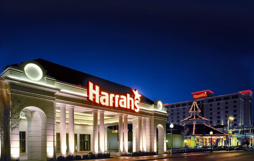 harrahs front building