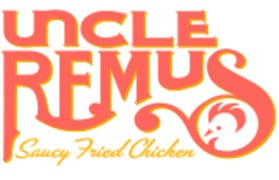 Uncle Remus Saucy Fried Chicken logo