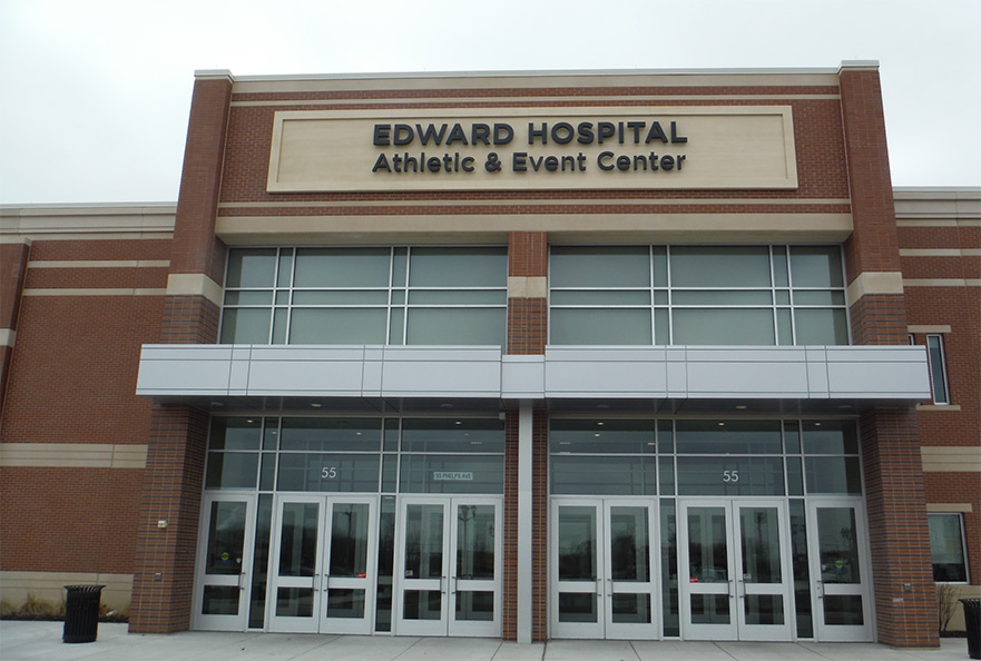 edward hospital athletic and event center