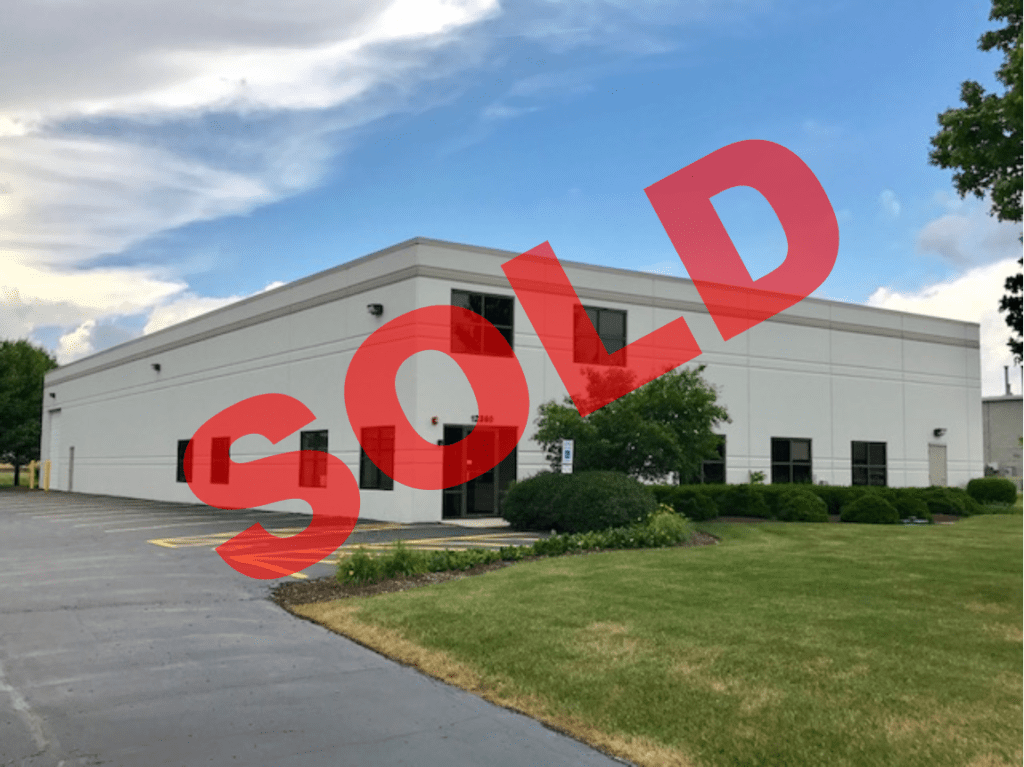 SOLD - 12360 S. Industrial Drive, Plainfield