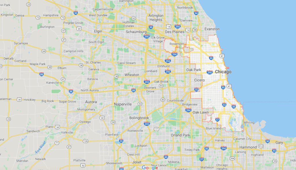 service area chicago for caton commercial real estate
