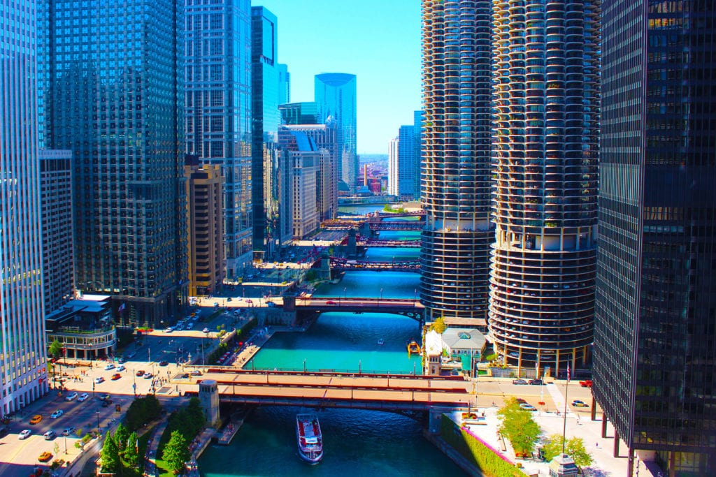 caton commercial real estate chicago river